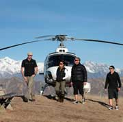 Private Chef Heli Tour
